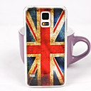 Ретро британский флаг шаблон чехол Назад ПК для Samsung S5 / I9600