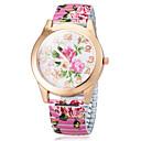 Women's Flower Color Dial The Elastic  Flower Band Quartz Bracelet Watch (Assorted Colors) Cool Watches Unique Watches