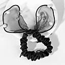 Pearl Lace Bow Rabbit Ears Hair Ties