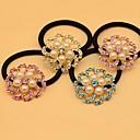 1шт Мода Циркон Pearl волосы цветок Связи (No.3 разных цветов)
