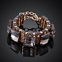 Мода ЗОЛОЧЕНИЕ инкрустированные Rhinestone Женские браслеты шарма (1 шт)