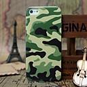 Army Green Camouflage Pattern Твердый переплет чехол для iPhone 5 / 5S