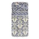 Элегантный синий цветок Футляр Дизайн для iPhone 6
