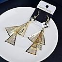 Мода Многоуровневая треугольной Многоцветный Сплав Серьги падения (больше цвета) (1 пара)