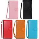 Crazy Horse Pattern кошелек PU Кожаный чехол iPhone 6 Plus (разных цветов)