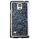 Игристые Случаи Алмазный задняя крышка для Samsung Galaxy Note 4 (разных цветов)