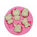 Hello Kitty Силиконовые Плесень торт украшение Силиконовые формы для Fondant Конфеты ремесел Ювелирный PMC смолы глины