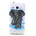 Blue Elephant шаблон ТПУ помощи Вернуться Дело Чехол для Samsung Galaxy Trend 3 G3502