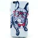 Шаблон очки Собака ТПУ Материал Телефон чехол для iphone 5C