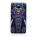 Слон шаблон ТПУ Мягкая задняя крышка чехол для Samsung Galaxy A3