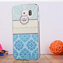 Новая мода 3D красоты цветок Красочные Тотем мультфильм чехол для Samsung Galaxy S6edge