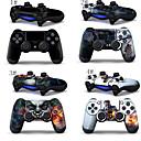 Оболочки Наклейка Обложка для Sony Playstation 4 Беспроводные контроллеры два (2) Переводные картинки