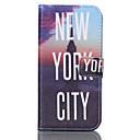 Нью-Йорк Pattern Кожа PU Окрашенные телефон случае для Galaxy S3 / S4 / S5 / S6 / S6edge / S3 / S4 Mini Mini / Mini S5