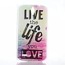 Любовь Pattern Жизнь матовый материал ПК телефон чехол для Huawei G610