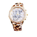 cartoon  women's fashion hot sell  leopard grain leather watch