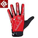 Glove Cycling / Bike Women's / Men's / All Full-finger Gloves Anti-skidding Autumn / Winter Red M - KORAMAN