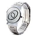 Paidu Марка Японии Movt кварцевые Мужской отражающее зеркало Овальный Масштаб наручные часы с Группой Сплава