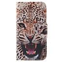 Леопард шаблон PU кожаный чехол для всего тела с слот для карт и ПОВ по Samsung Galaxy S6 краю