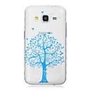 Blue Tree Pattern Волны скольжения Ручка TPU Soft Phone Чехол для Galaxy J1 / J2 / J3 / J5 / J7 / J1 Туз / G530 / G850F / G360
