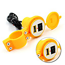 Waterproof 12V To 5V 1.5A Motorcycle Smart Phone GPS USB Charger Power Adapter