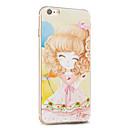 Kakashi fiore serie della principessa pittura TPU custodia morbida per iPhone 6S / 6 / 6S plus / 6 più (ciliegio)