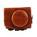 G7x Kameratasche (Crazy Horse Leder) für Canon G7x (schwarz / braun / Kaffee)