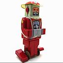 Novelty Toy / puzzel Toy / educatief speelgoed / Opwindspeelgoed Novelty Toy / / Krijger / Robot Metaal Zilver Voor kinderen