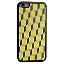 Würfel Fall geometrische Muster Seide Material Muster tpu Telefon für iphone 6s 6 Plus
