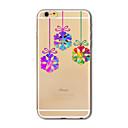Translucent Christmas snow TPU Soft Case Cover For Apple iPhone 7 iPhone 7 plus iPhone 6 iPhone 6 plus iphone 5