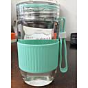 przejrzyste kreskówki do przejechania Drinkware odkryty, 280 ml soku filtrować przenośne szkła tumbler wody herbata&napój