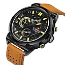 Men's Sport Watch / Military Watch Japanese Quartz Calendar / Water Resistant Leather Band Cool