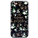 Für Muster Hülle Rückseitenabdeckung Hülle Blume Weich TPU für AppleiPhone 7 plus iPhone 7 iPhone 6s Plus iPhone 6 Plus iPhone 6s iPhone