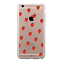 For IPhone 7 Case Back Cover Case TPU Strawberry Pattern for iPhone 7/ 7 Plus 6s/ 6 /6s Plus / 6 Plus/ SE / 5s / 5 /5C/ 4/4s