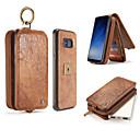 Fall für Samsung Galaxy S8 plus s8 Fall Luxus Retro Multifunktions 2 in 1 Sekunde Schicht Leder Brieftasche Fall Magnet zurück Deckung s7
