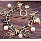 Pearl Heart Charm Bracelets Jewelry
