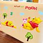 Cartoon Lovely Winnie The Pooh PVC Wall Sticker Wall Decals