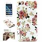 weiße Blume Muster-TPU und IMD Telefonkasten für Huawei Ehre 6