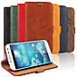 Bark Grain PU Leather Full Body Cover with Stand and Case for Samsung Galaxy S4 I9500