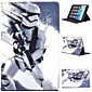 Star Wars Coloured Drawing or Pattern Holster PU Leather Folio Case for iPad Mini 3/2/1