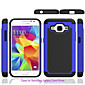 Hybrid Rugged Rubber Silicon+PC Shockproof 2 In 1 Hard Cover Cases For Samsung Galaxy  Core Prime/Galaxy Grand Prime