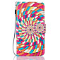 PU Leather Material Color Swirl Pattern Painting Pattern  Phone Cases for Samsung Galaxy S7 Edge/S7/S6/S5