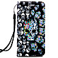 For Samsung Galaxy J1(2016) J3 J310 J5 J510 J7 J710 9082 G360 G530 on5(2016) Case Cover Skull Pattern 3D Relief PUP Material Phone Case